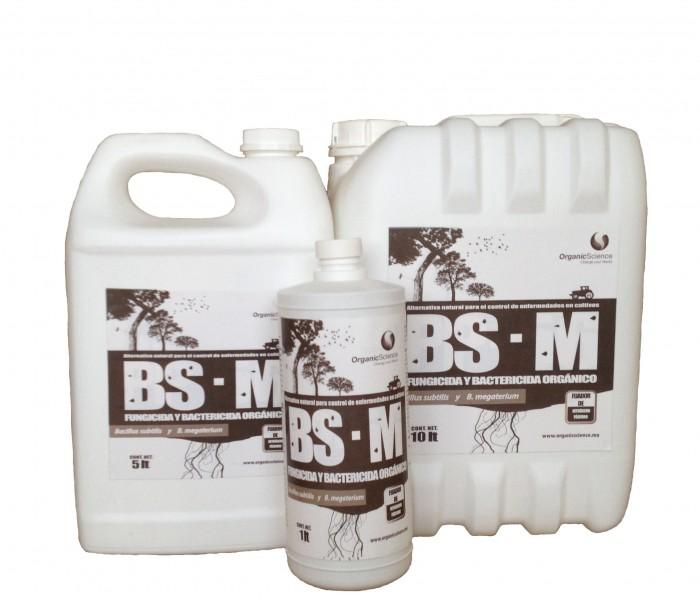Bacillus Subtilis y Megaterium - Controlador de enfermedades BS-M en sus 3 presentaciones