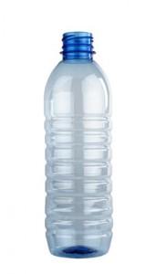 Botella de plástico de 2 litros.